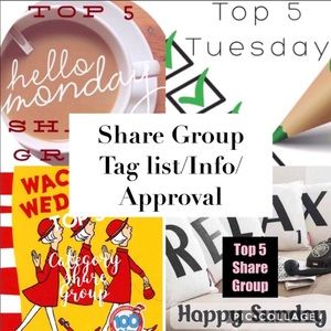 🦊Top 5 Share Gp Info 🦊☕️Monday Top 5 Share Group